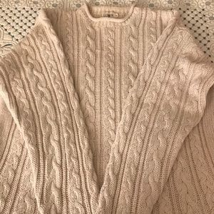 JCREW Cable Knit Sweater, 🌸🌺EUC🌸🌺